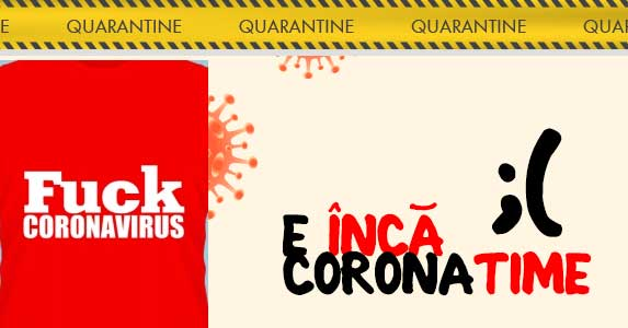 Tricouri Coronavirus